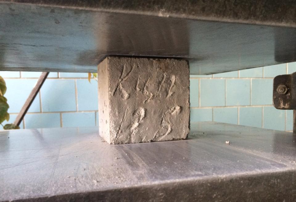 Испытание бетон баню керамзитобетона